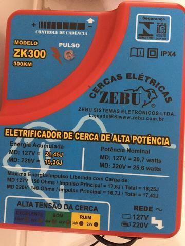 Eletrificador de cerca para a animais