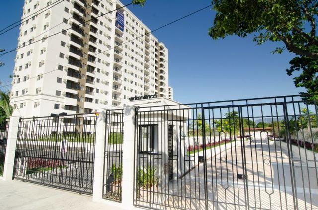 Apartamento 2 quartos com suíte, varanda, vaga, junto ao Nova América, Del Castilho - Foto 2