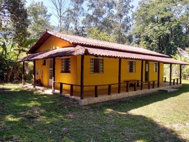 Caetano Imóveis - Casa na beira do Rio Faraó (c/ poço privado pra banho e casa mobiliada!)