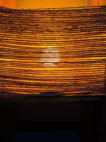 Luminária rústica para decoração - Foto 5