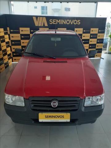 FIAT UNO 1.0 MPI MILLE WAY ECONOMY 8V FLEX 4P MANUAL - Foto 2