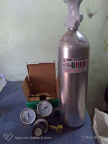 Kit CO2 2 kg chopp  - Foto 5