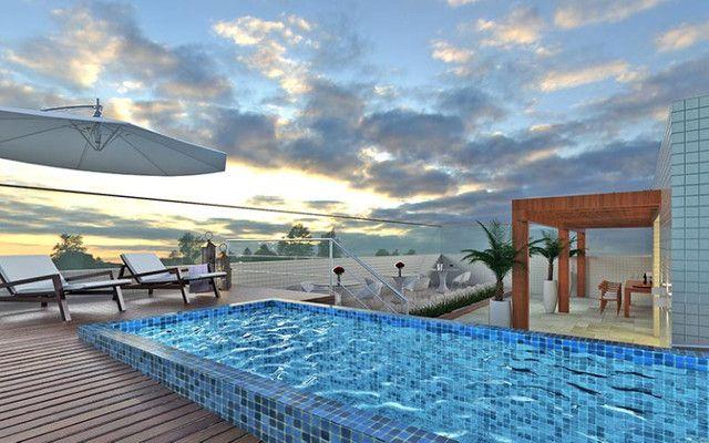Lançamento! Apt. com 2 quartos no Cabo Branco com área de lazer - Foto 11
