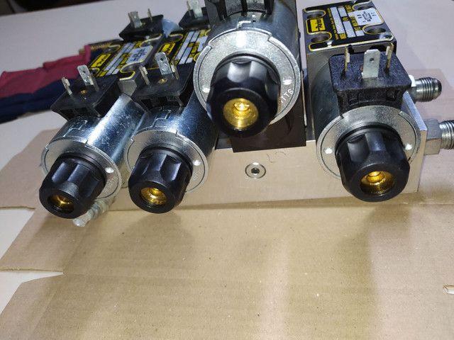 Bloco de hidráulico montado parker - Foto 3