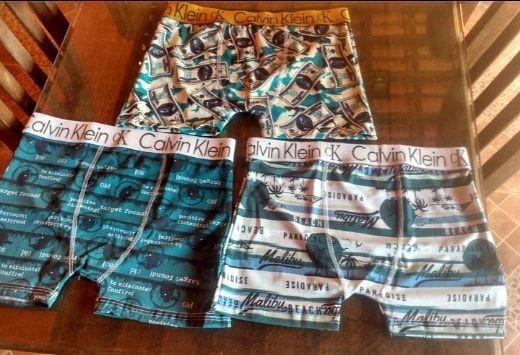 Vendo Cuecas Boxer CK todos os tamanhos. Preço Bom !  - Foto 2