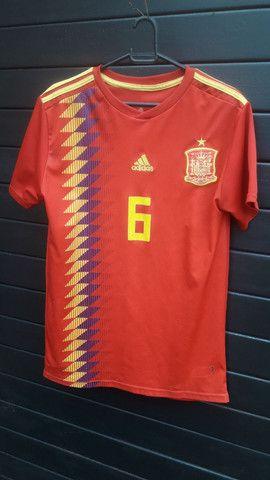 Camisa Espanha.  - Foto 2