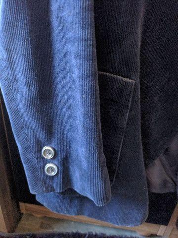 Blazer masculino azul tamanho M - Foto 2