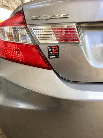 Honda Civic EXS 2013 1.8 Automático - Com Teto Solar - Foto 7