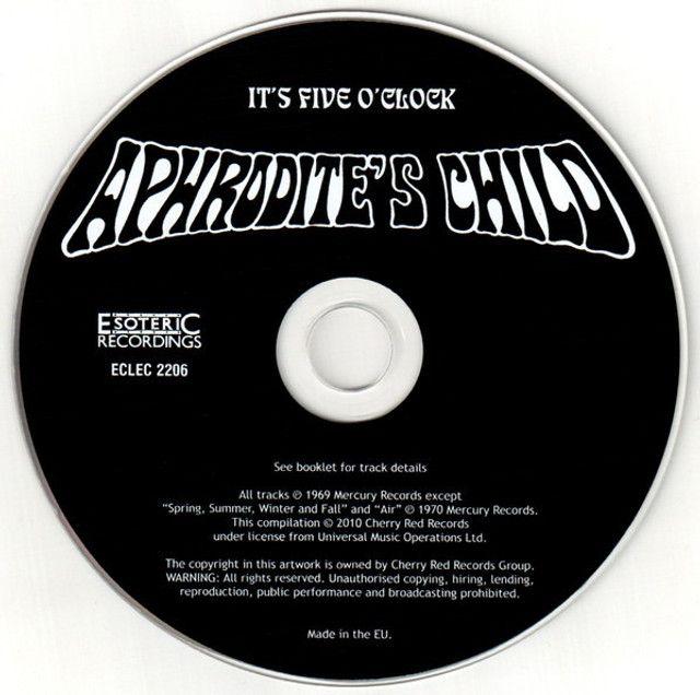 Aphrodite's Child - It's Five O'Clock - Foto 6