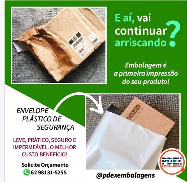 Envelope Plástico Segurança 32X40 p/ E-Commerce - Foto 4