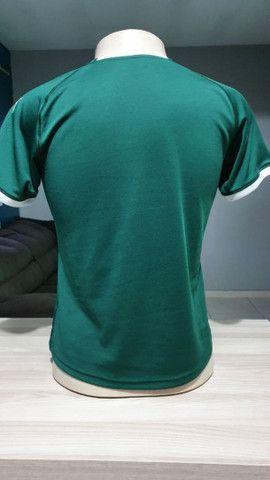Camisa do Palmeiras Tam P e G verde Masculina nova na etiqueta sem uso  - Foto 3