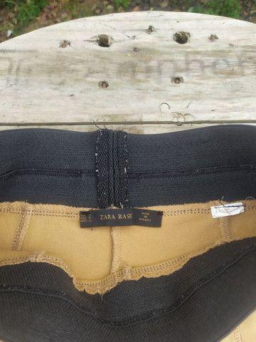 Calça montaria Zara M - Foto 4