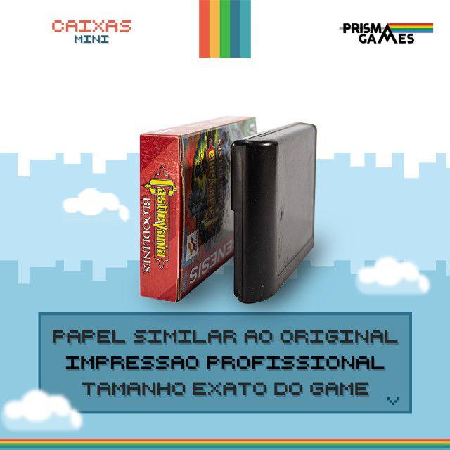 Caixa Mini Para Jogos - Megadrive - Foto 3