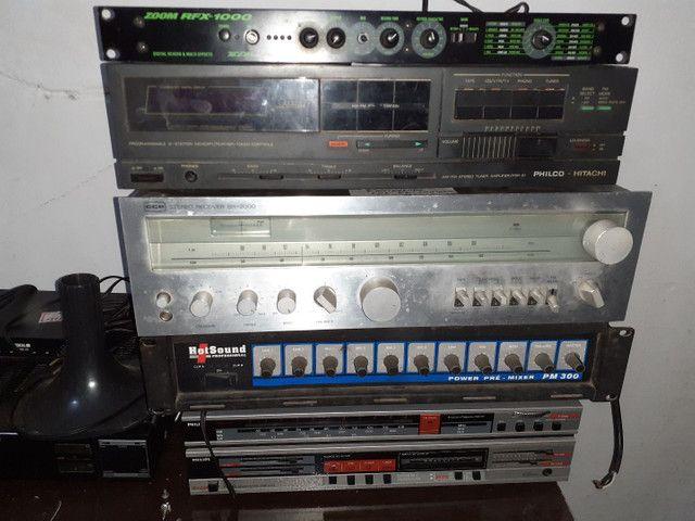 Amplicadores, Receivers e alto falante  - Foto 2