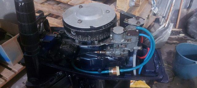 Motor de popa yamaha 8hp  - Foto 2