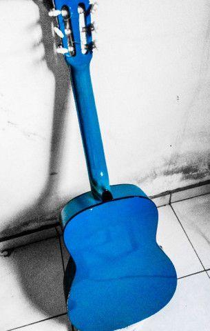Violão Kashima azul (tamanho médio) - Foto 2