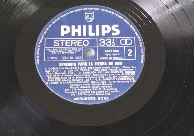 LP Vinil Mercedes Sosa 1979 - Foto 4