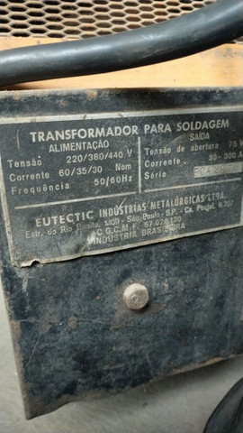 Máquina de solda transformadora Eutectic - Foto 2