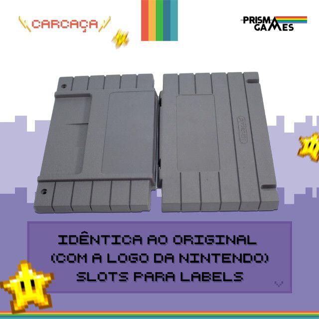 Carcaça Jogos - Super Nintendo (SNES) - Foto 2