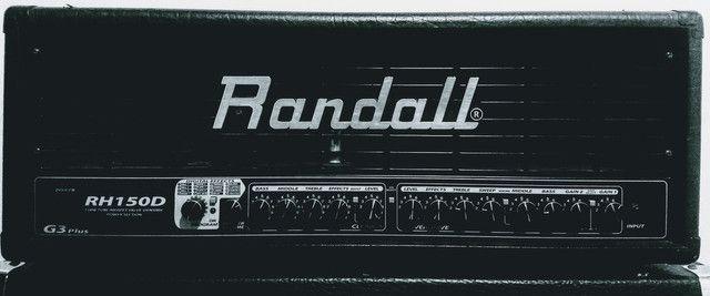 """Cabeçote Randall + Caixa Bugera 4 Falantes 12"""""""
