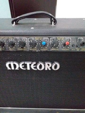 Vendo amplificador de guitarra! meteoro mck 200w amdreas kisser - Foto 6