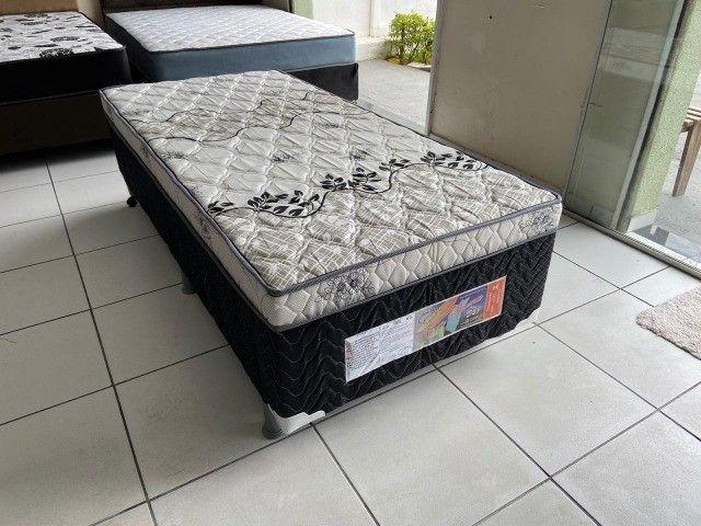 cama solteiro conjugada nova - Foto 2