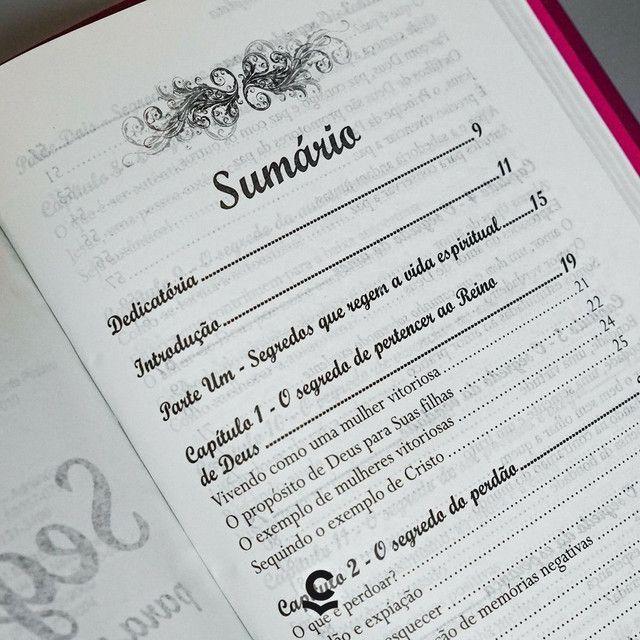 Bíblia da Mulher Vitoriosa. - Foto 2