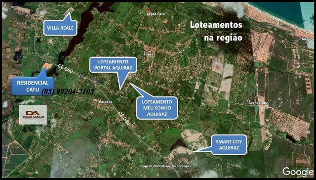=§ Loteamento aberto, localizado às margens da Lagoa do Catu! - Foto 14