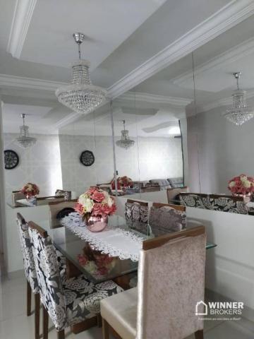 Lindo apartamento mobiliado à venda no centro de Cianorte! - Foto 6