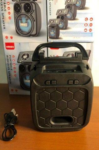Caixa de Som Portátil Wireless Bluetooth Kimiso KMS-1182 - Foto 2