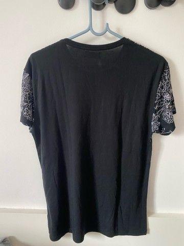 Camiseta zara preta - Foto 4