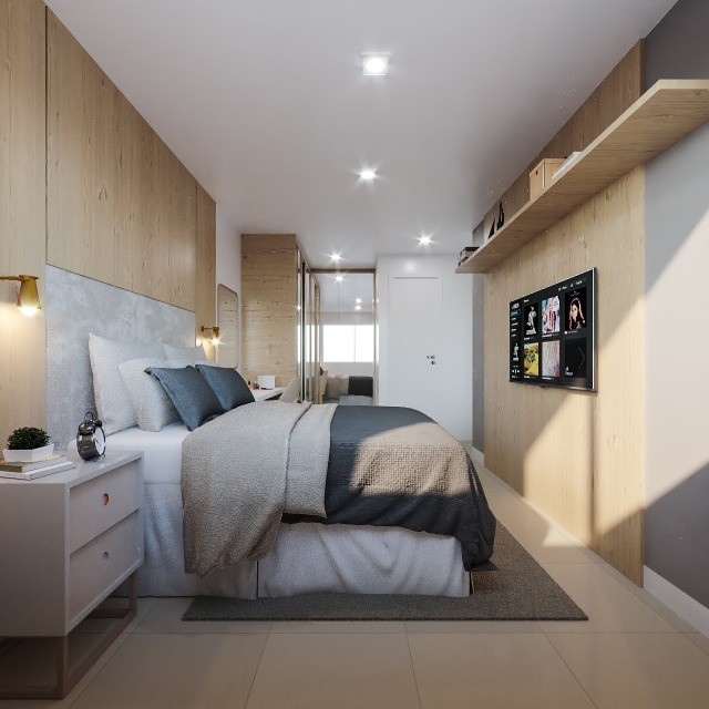 Apartamentos de 2 ou 3 quartos na Parangaba. Com elevador, lazer, segurança para você - Foto 11