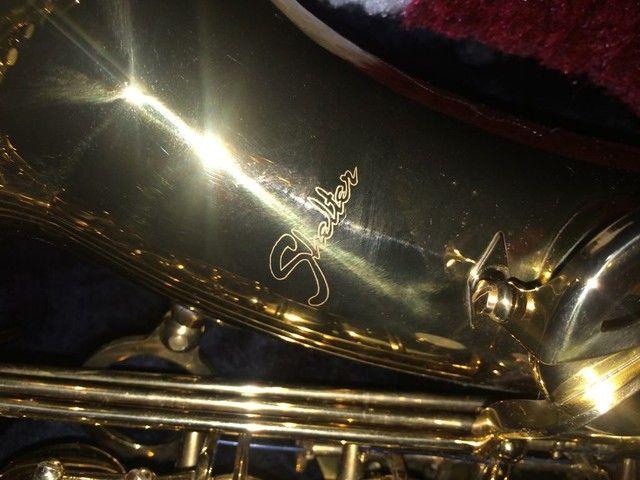 Saxofone Alto Shelter novo - Foto 2