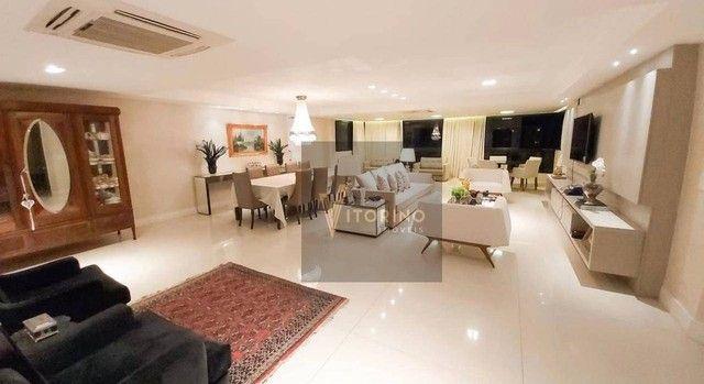 Apartamento com 3 dormitórios para alugar, 290 m² por R$ 7.000,00/mês - Manaíra - João Pes - Foto 4