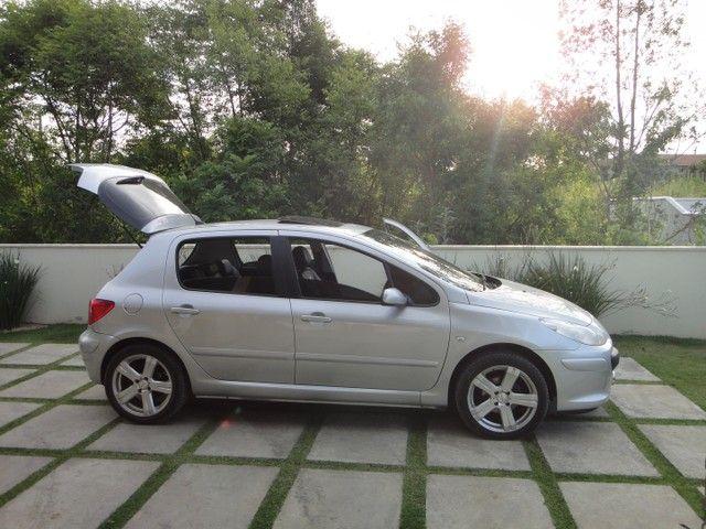 Peugeot 307 1.6 Pack Teto e Couro - Foto 6