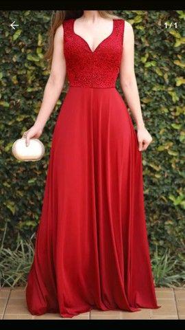 R$ 150,00 Vestido vermelho pré wedding