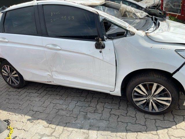 - Sucata Honda Fit EXL CVT 2015 ( venda em peças ) - Foto 3