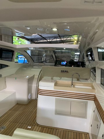Real 40 HT Luxury Modelo 2021 - Real Powerboats - Gasolina / Diesel  - Foto 6