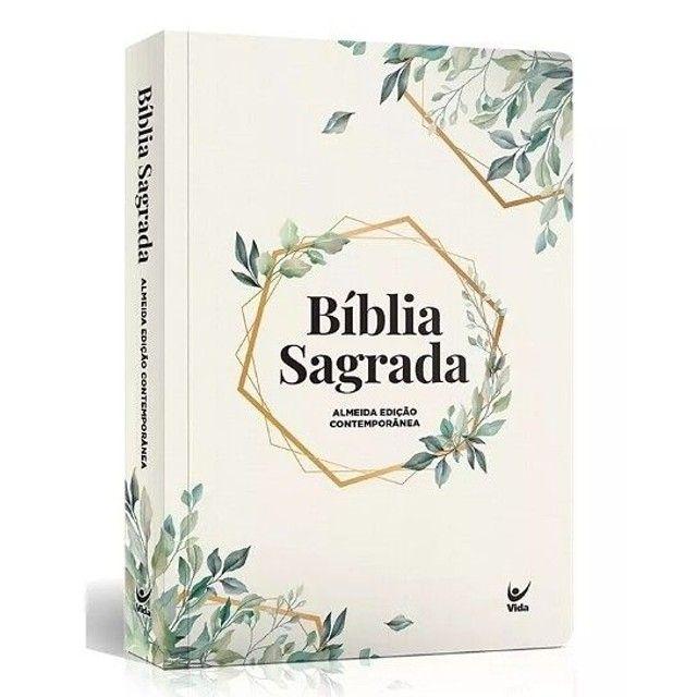 Bíblia Sagrada   Modelo Slim   Capa Semi-luxo - Foto 5