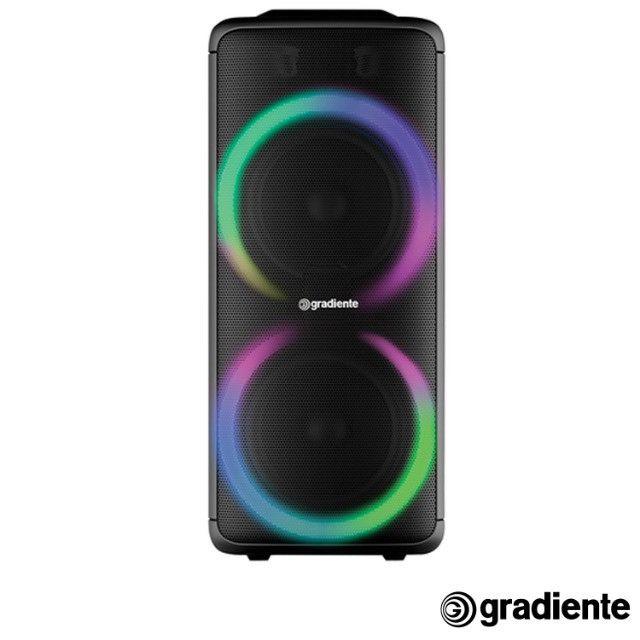 Caixa de Som Amplificada Gradiente Extreme Colors com Potência de 1000W - GCA203