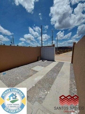 WG Casa Popular entrada a partir de 2.000*, 2 quartos, 1 banheiro social, Garagem. - Foto 8