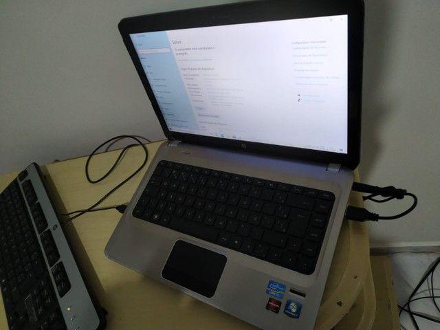Notebook HP i7 2620m 8gb ram ssd 128gb - Foto 2