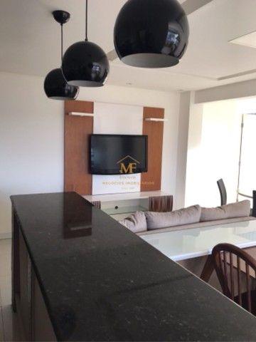 Apartamento mobiliado para locação próximo da avenida Maria Quitéria  - Foto 8