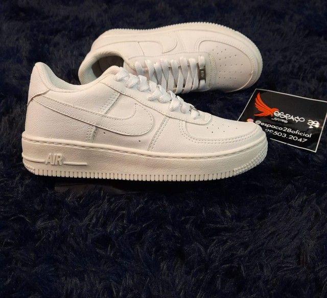 Tênis Nike Air force AF1 branco o mais top! - Foto 2