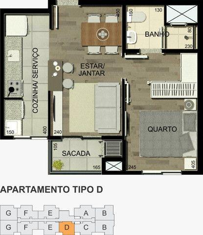 Residencial Alexandria 1 quarto - Foto 5