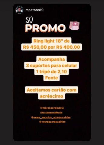 Ring Light 18 Polegadas