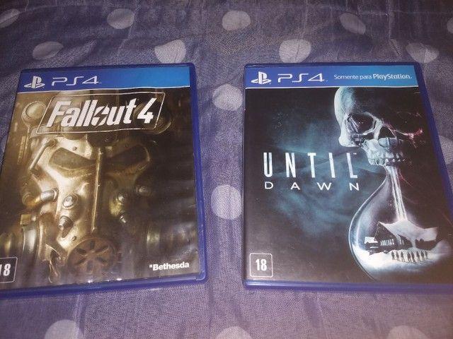 Fallout 4 e Until Dawn PS4
