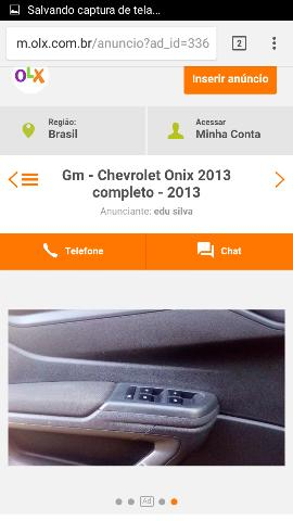 Gm - Chevrolet Onix 2013 completo