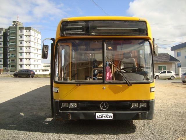 Ônibus Circular 1992 motor mercedes 1525 - Foto 4