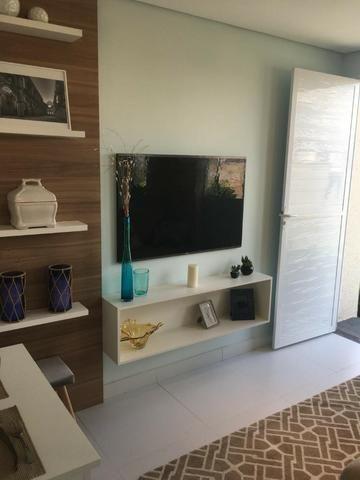 Casa de 2/4 na laje em Condomínio - Região Jardim Cruzeiro e Feira IX - Ent Facilitada - Foto 7